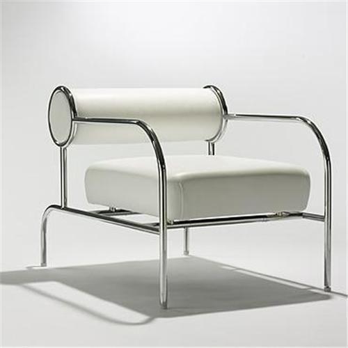 Sofa with Arms (single)   Shiro Kuramata for the Espirit House
