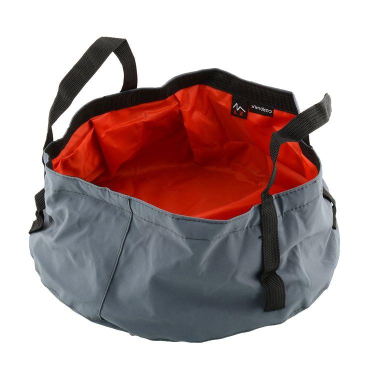ポータブル屋外折りたたみ折りたたみキャンプ洗面流域バケットボウルシンク洗濯バッグハイキング水ポット新しい