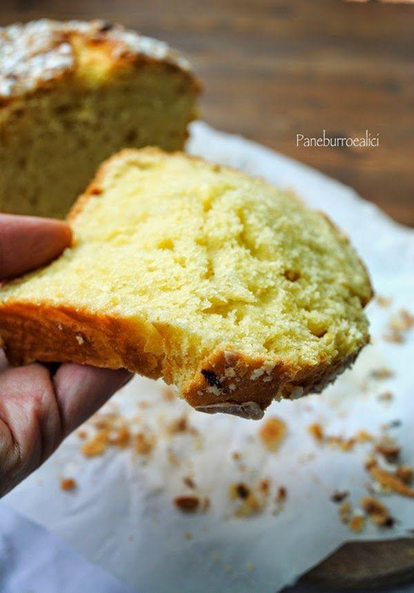 Pane, burro e alici: Brioche senza impasto alle mandorle