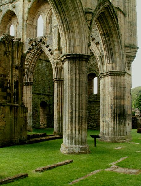 Riveaulx Abbey, the most beautiful 'ruin' in England