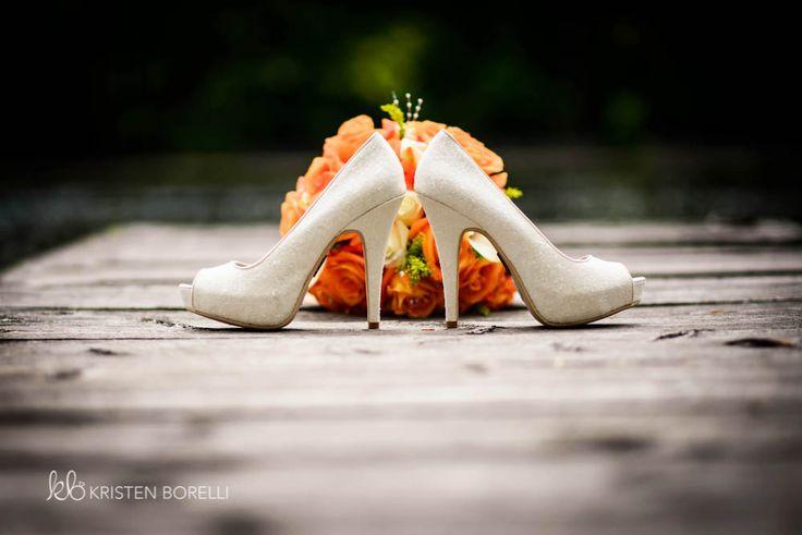 Wedding Shoe Photography | Kristen Borelli Photography | Vancouver Island Weddings | Patterson Kaye Lodge Wedding Photography |