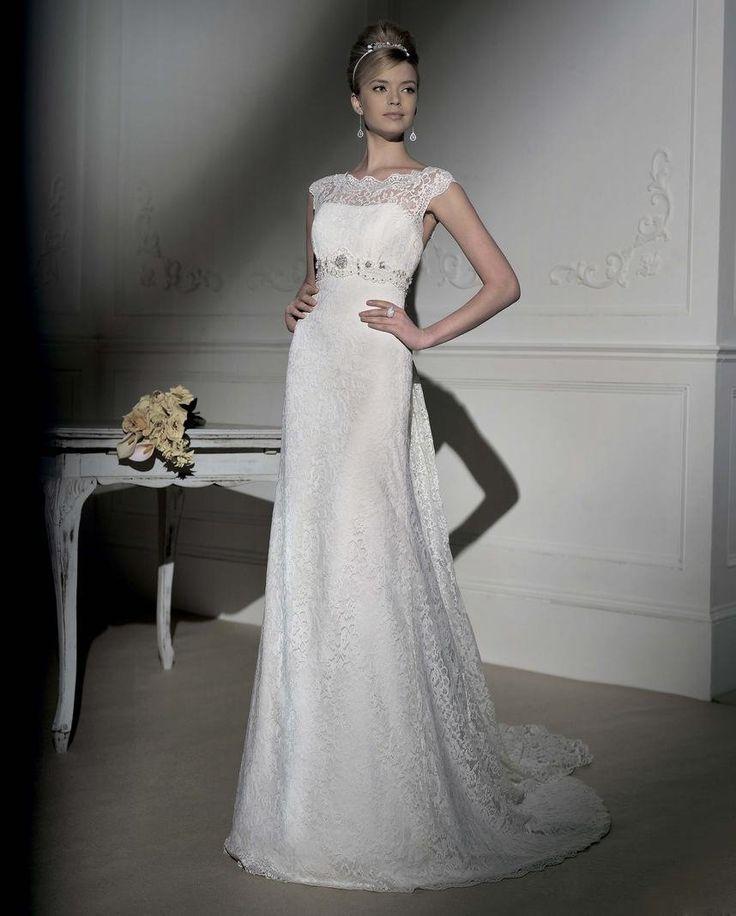 37 best Designer Wedding Dresses images on Pinterest | Short wedding ...