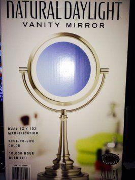 Sunter Natural Daylight Vanity Makeup Mirror Makeup Mirror Pinterest Vanities, Mirror and ...
