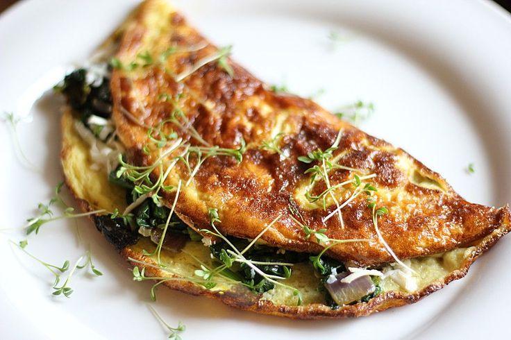 Spinat - Käse - Omelett, ein sehr schönes Rezept aus der Kategorie Eier. Bewertungen: 156. Durchschnitt: Ø 4,2.