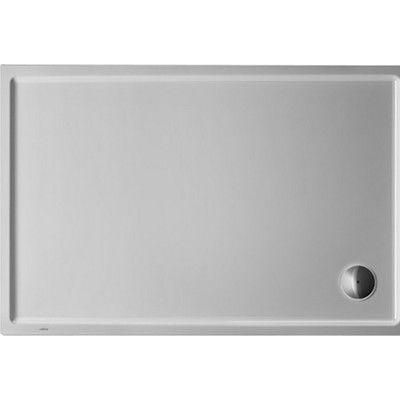 """Duravit Starck Slimline Shower Tray Size: 2.13"""" H x 47.25"""" W x 39.38"""" D"""