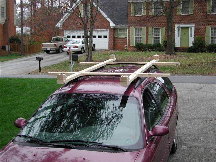 Plywood Car Carrier Wood Community Holz Pinterest