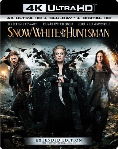 Snow White and the Huntsman [4K Ultra HD Blu-ray/Blu-ray] [Includes Digital Copy] [UltraViolet] [2012]