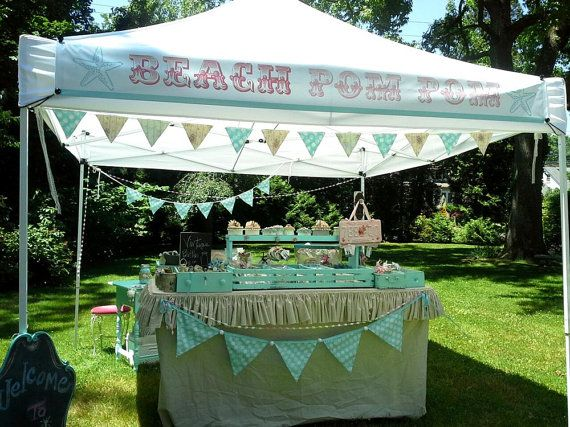 One Craft Show Banner 12 Inch By 9 Foot For A 10x10 Canopy