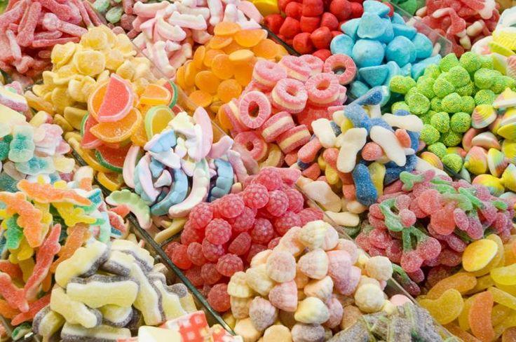 Miam ! Encore des rayons de bonbons ! Dé-li-cieux !
