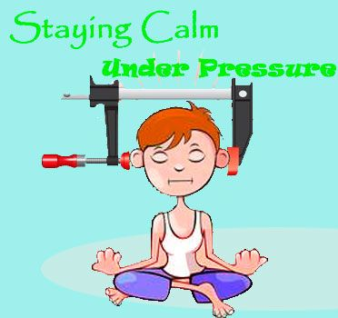 Staying Calm under Pressure: Anger Management technique with lots of free printables