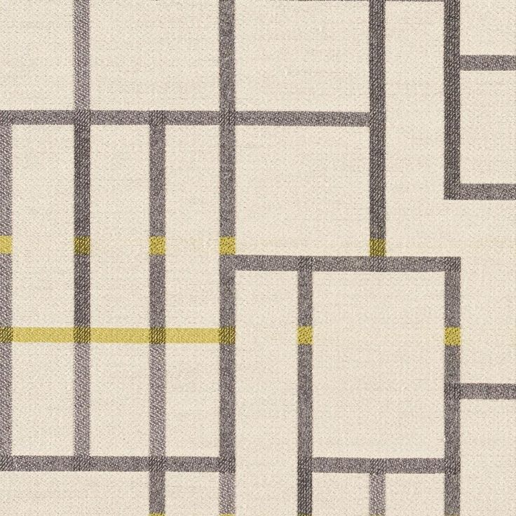 Subdivide - Bike Lane | Subdivide harkens back to the Bauhaus, where architectural drawings and plans were drafted with the guiding principles and foundation of modernism. Utilizing a loom with a large horizontal repeat capability, we've created a large pattern of linework and blocks designed to be cut and sewn without having to match the repeat. Natural fibers on the surface create a soft hand, while a nylon warp provides the strength to meet 100,000 double rubs.