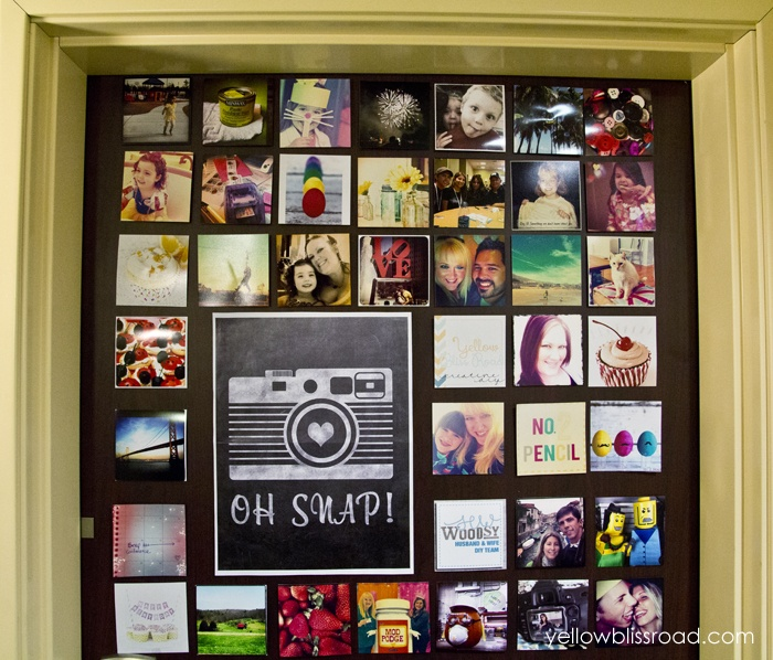 Instagram Inspired Photo Collage, SNAP 2013 Recap and a Birthday Giveaway Announcement!