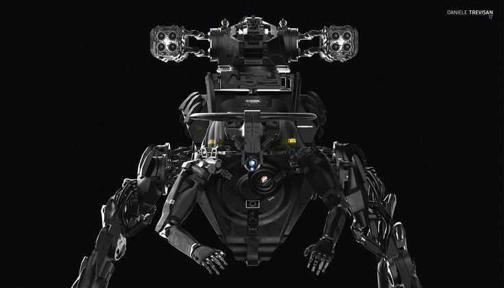 ArtStation - Artillery NeoEuropa mech ACOX1, Daniele Trevisan