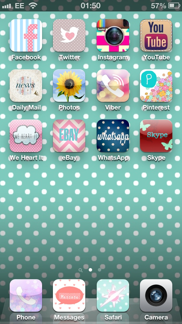 Cool little app to make your iphone super girly and cute for Cool girly stuff