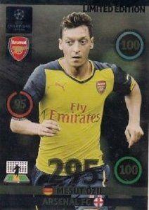 Champions League Adrenalyn XL 2014/2015 Mesut Ozil 14/15 Limited Edition #arsenal #afc