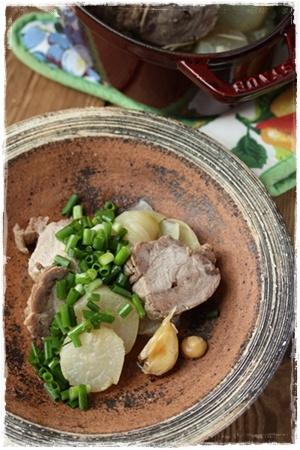 豚と大根の和風ロースト #recipes #staub