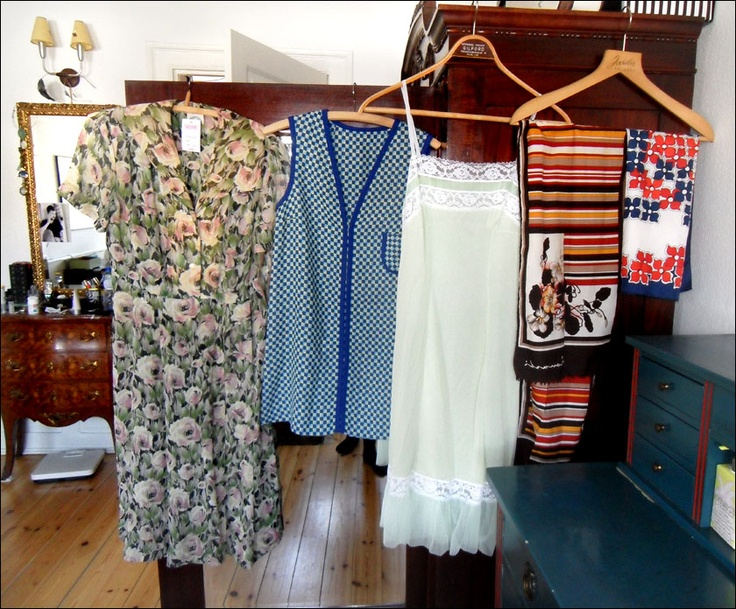 Dresses and scarves from Episode in Amsterdam