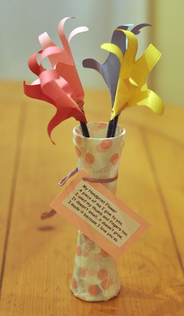 Easy Toddler Craft For Mother S Day My Daughter Made This