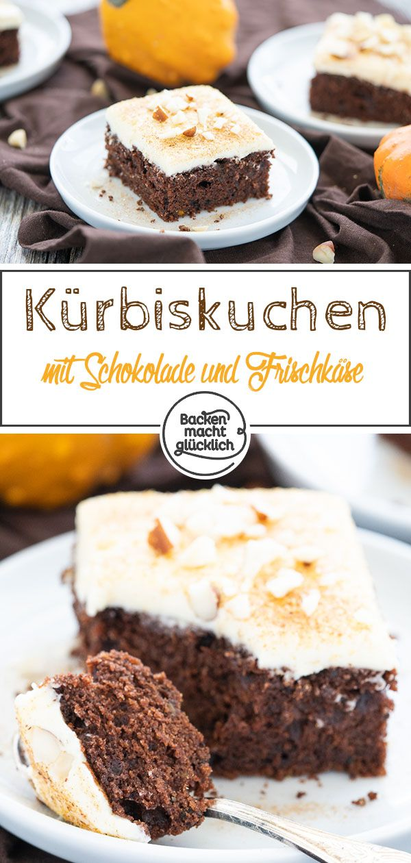 Kürbis-Schoko-Kuchen – Herbst Backrezepte