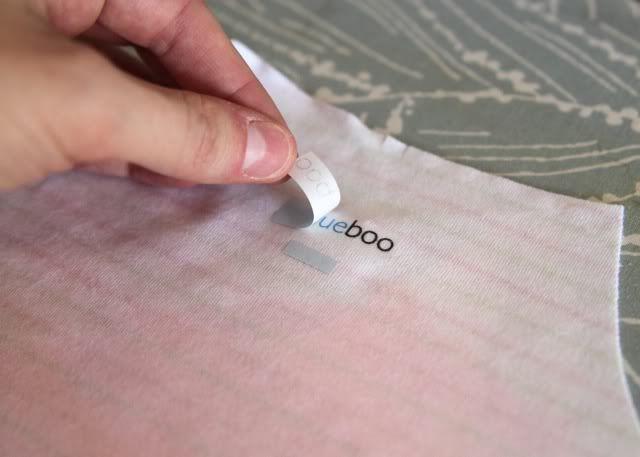 DIY Tagless Clothing Labels!