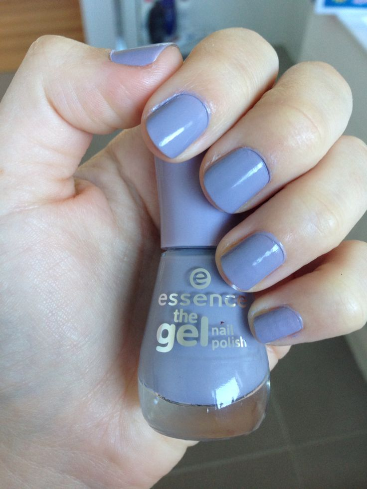 Essence 'the GEL nail polish' lavender colour