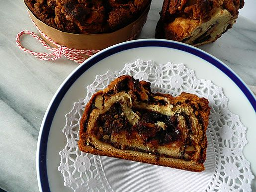 YEASTED - SWEET  Raspberry Chocolate Babka