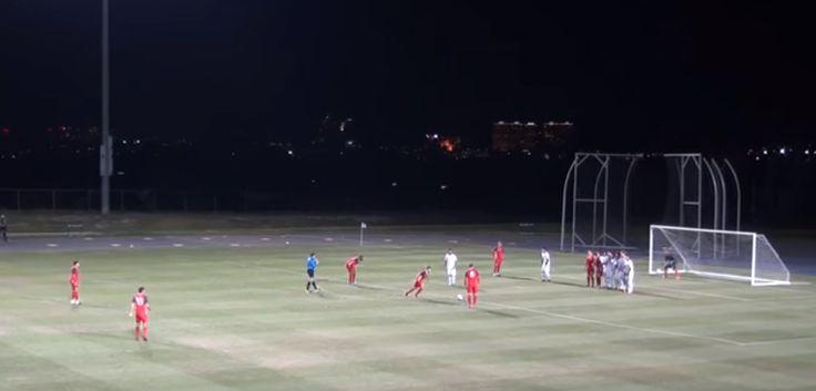 Sebastian Giovinco scores sublime free kick for Toronto FC in pre-season friendly (Video)
