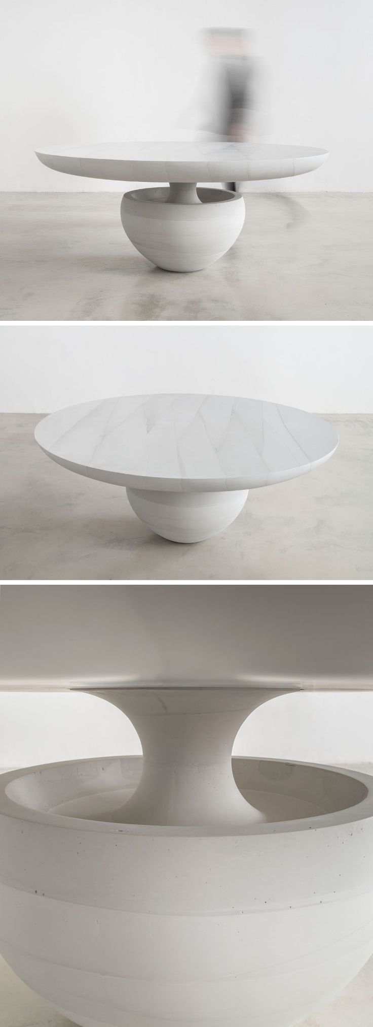 25 best ideas about concrete coffee table on pinterest outdoor countertop concrete design Ghost coffee table