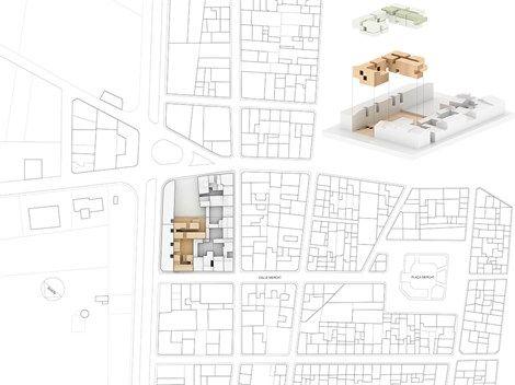 General Plan. Drawing courtesy of Ripoll Tizón Estudio de Arquitectura