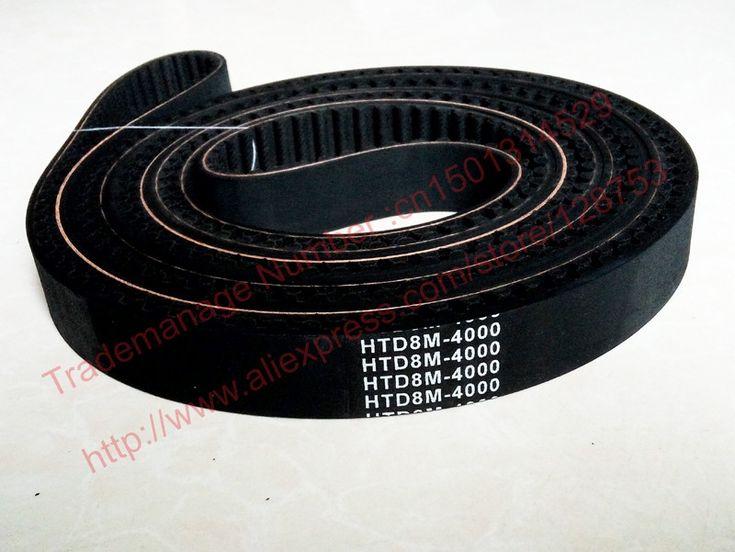1pc 4080-HTD 8M-25 Timing belt length 4080mm width 25mm 510 teeth pitch 8mm Neoprene Rubber HTD8M STD S8M high quanlity