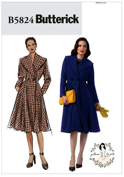 64 besten Vintage/Retro Sewing Patterns (40\'s, 50\'s, 60\'s) Bilder ...