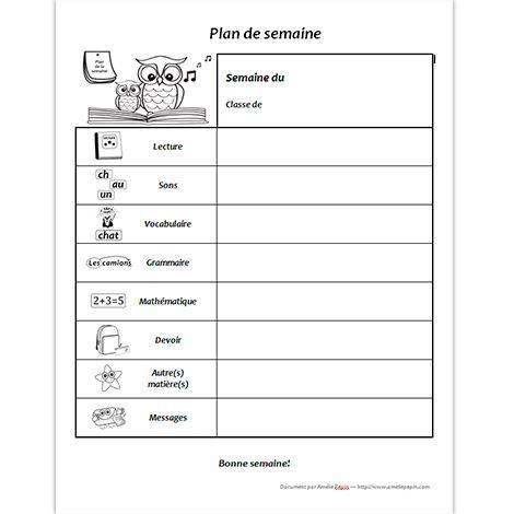 Document Word (.doc) En noir et blanc seulement 1 page Cette fiche vous sera utile pour donner les devoirs et les leçons à vos élèves. Sous forme de document Word illustré, elle est facile à personnaliser en cas de besoin puisque vous pouvez écrire dans chaque case du tableau.