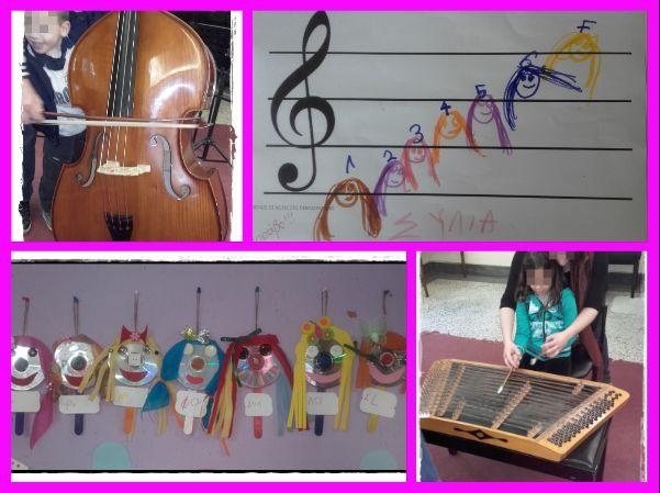 Η ΜΕΓΑΛΗ ΠΟΛΙΤΕΙΑ ΤΩΝ ΜΙΚΡΩΝ!!!: Μουσική Πινακοθήκη(e twinning)!Οι νότες είναι εφτά...