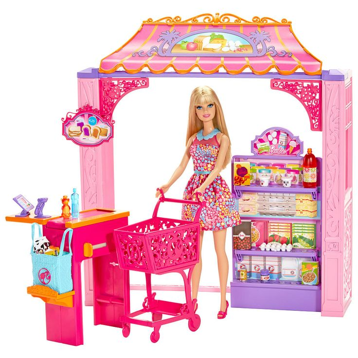 "Barbie Life in the Dreamhouse Grocery Store and Doll Playset - Mattel - Toys ""R"" Us"