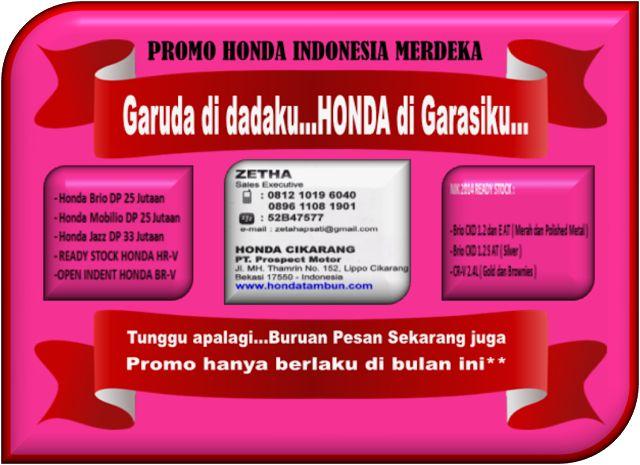 PROMO HONDA INDONESIA MERDEKA