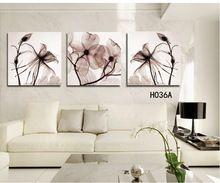 3 panel modern duvar tuval boyama ev dekoratif resim resim kanvas baskılar mavi çiçek büyüleyici(China (Mainland))