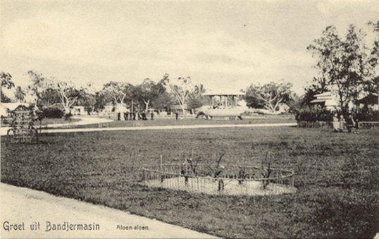 Aloen-aloen Bandjermasin 1880-1920.