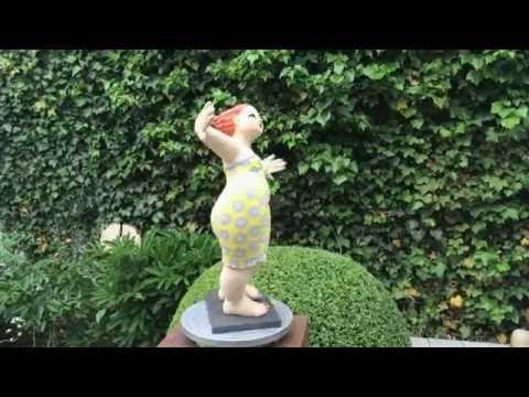 20 besten Gartenfiguren Bilder auf Pinterest Keramik kunst - figuren aus ton selber machen