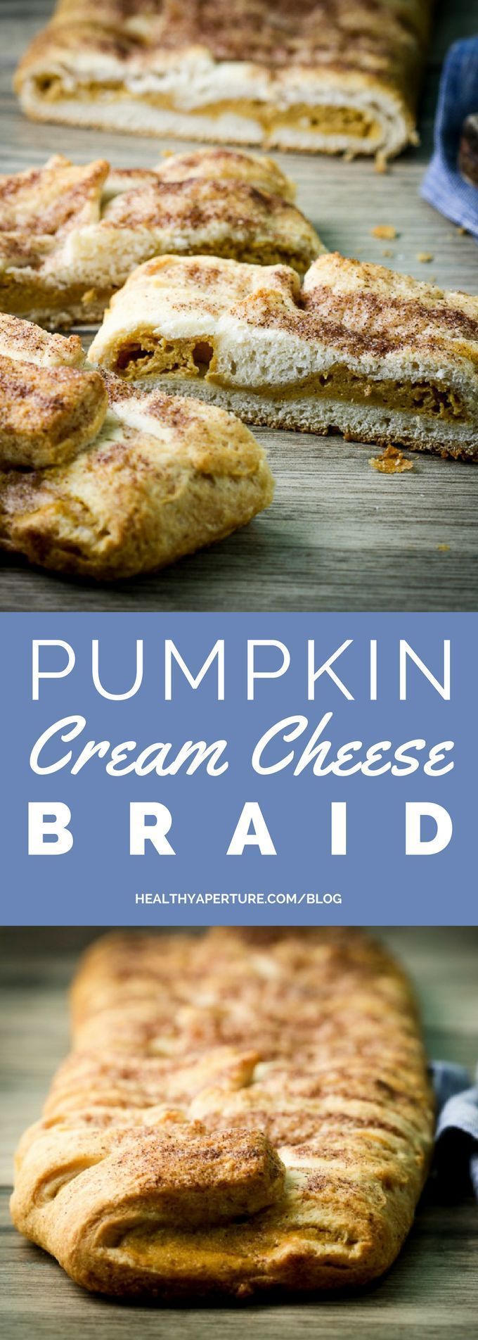 cool Turn cream cheese, pumpkin and crescent rolls into a quick-and-easy braided brea...