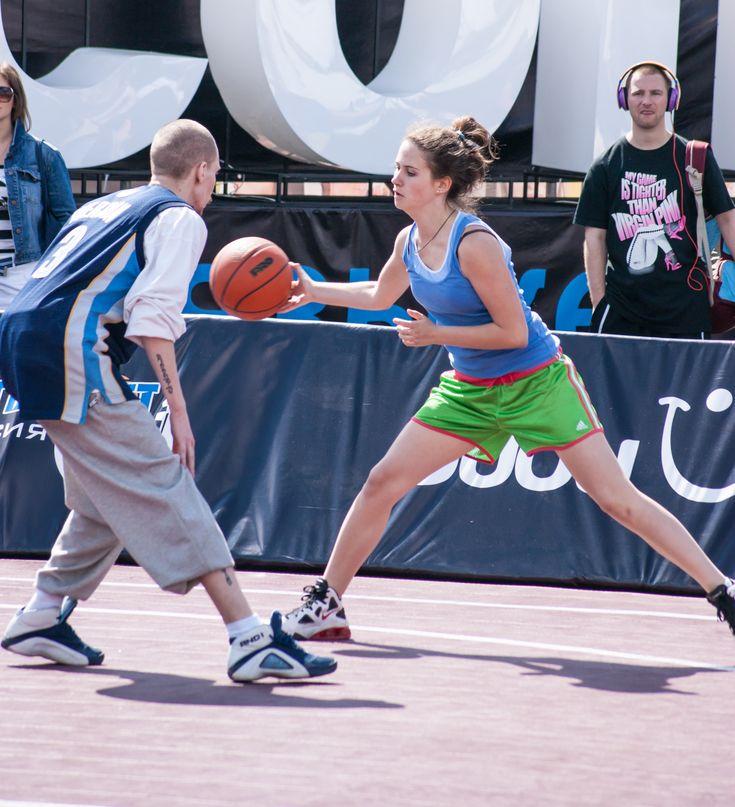уличный баскетбол в Москве