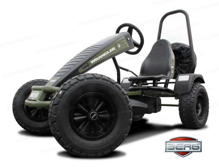 Berg Jeep Wrangler Pedal Go Kart For Teenagers And Adults