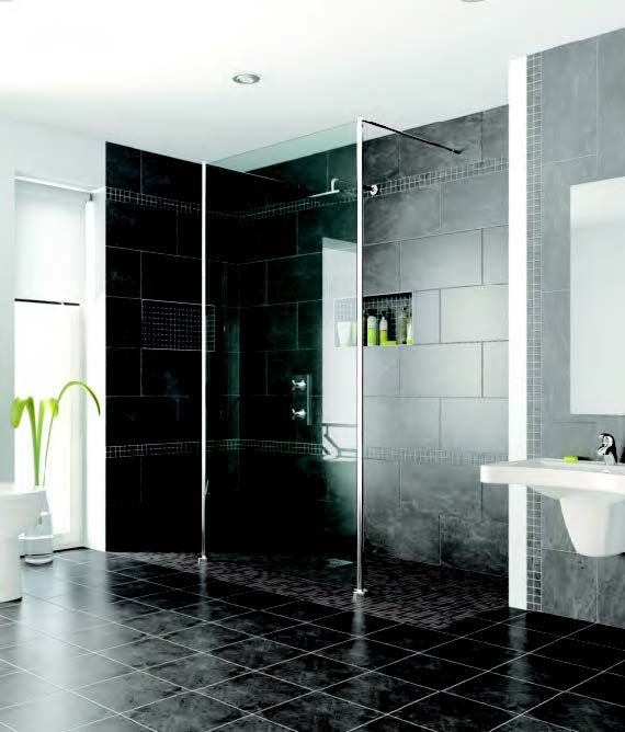 Wet Area Bathrooms And True Curbless Showers Offer Terrific Showering  Flexibility And Great Looks. Tuff