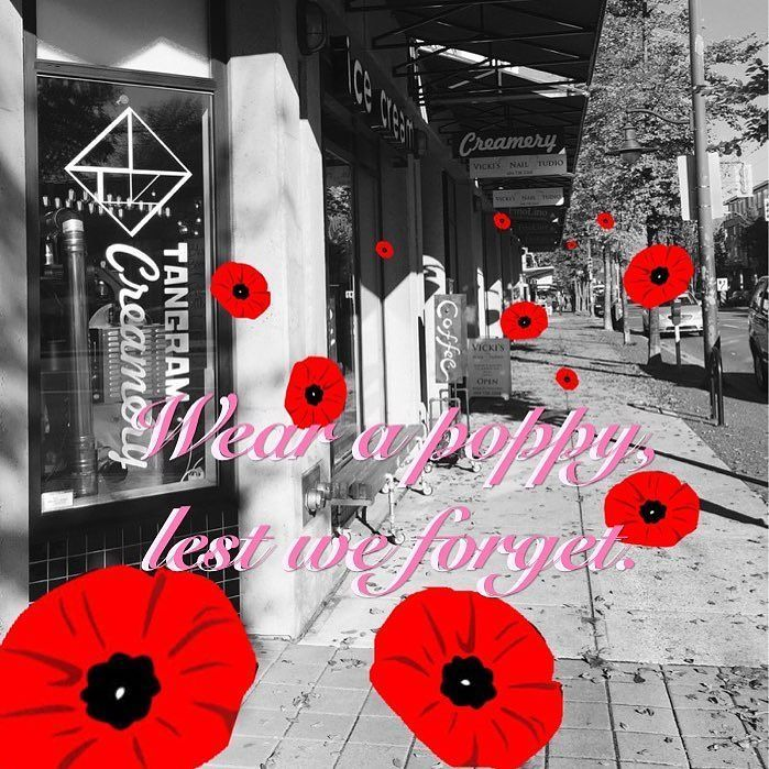 Business hours as usual during this Remembrance Day weekend. Enjoy the weather!