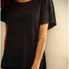 Sterling silver wrist cuff