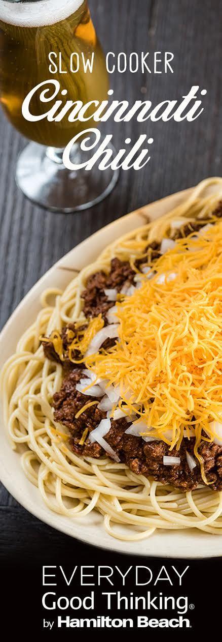 Cincinnati Chili Slow Cooker Recipe - Skyline Chili