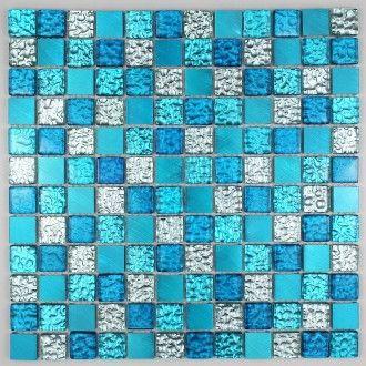 30 best mosaique bleu images on Pinterest | Bath design, Bathroom ...