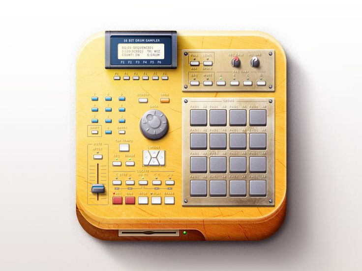 Hello everybody. This is wooden AKAI mpc. Made for practice :-) Don't forget check 2x version and sketch: http://mishapanfilov.ru/clients/akai_scketch.jpg  Project on behance: https://www.behance.n...