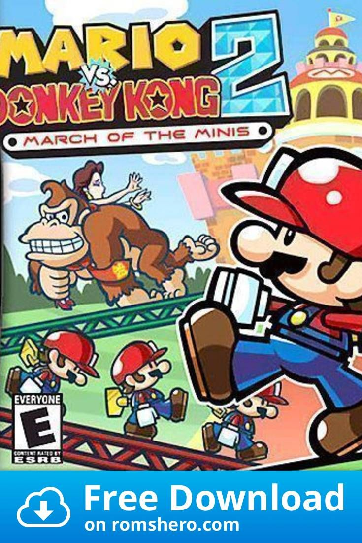 Download Mario Vs Donkey Kong 2 March Of The Minis Nintendo Ds Nds Rom Nintendo Ds Donkey Kong Nintendo