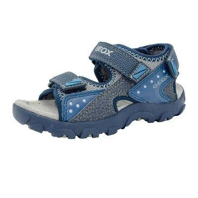 Zapatos negros de primavera Geox Strada infantiles D6mZeXiv