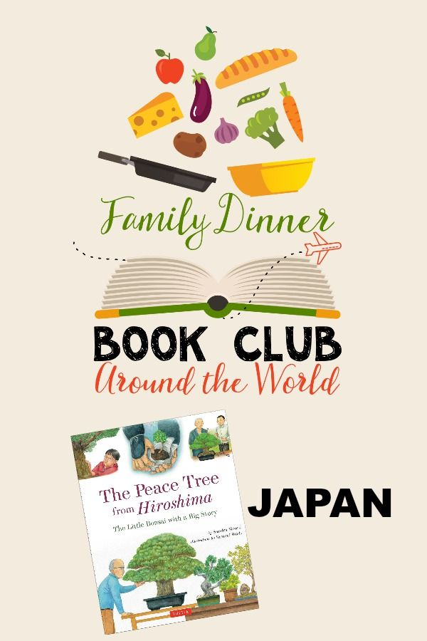 Explore Japan in this Family Dinner Book Club complete with a menu, conversation starters, table craft and family service project.